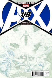 Avengers Vs. X-Men #12  (Opena Sketch Variant)