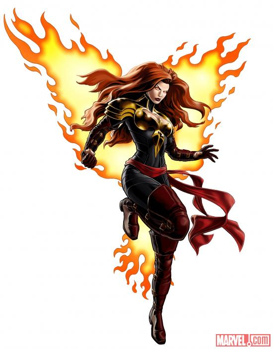 Phoenix Five Jean Grey from Marvel: Avengers Alliance