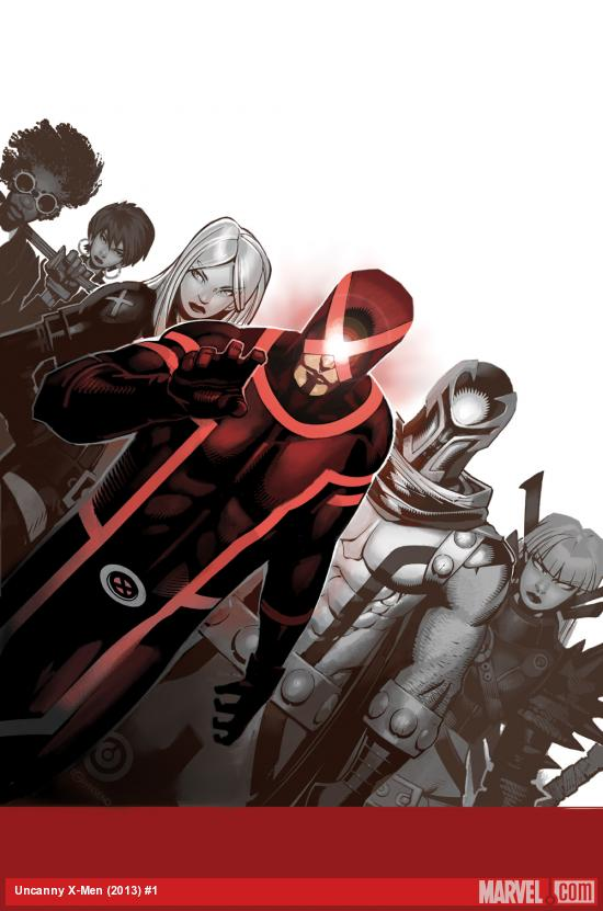 Uncanny X-Men (2013) #1 cover by Chris Bachalo