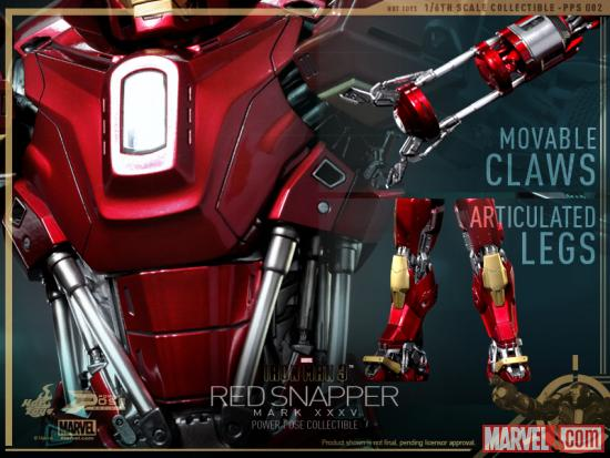 Новая фигурка Железного Человека от Hot Toys