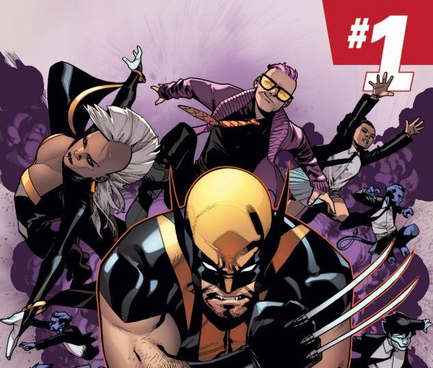 Wolverine & The X-Men (2014) #1 cover by Mahmud Asrar