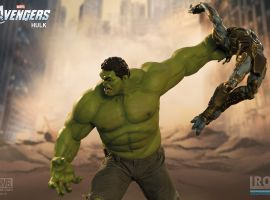 Hulk Battle Scene Diorama from Iron Studios