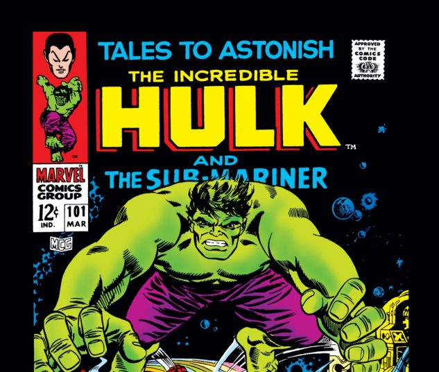 Tales to Astonish (1959) #101 Cover