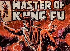 Master of Kung Fu #1 cover by Francesco Francavilla