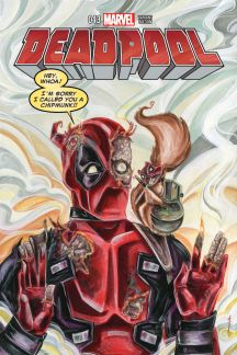 Deadpool #43  (Richard Wom Variant)
