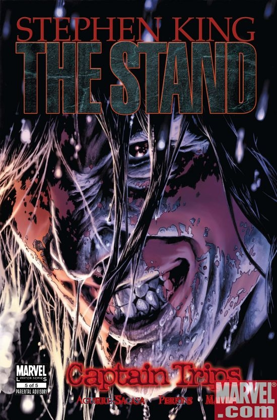 THE STAND: CAPTAIN TRIPS #5 Cover