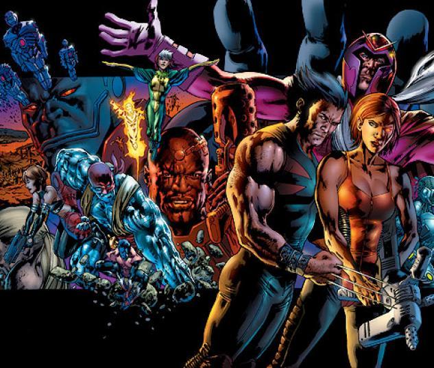 X-MEN: AGE OF APOCALYPSE ONE SHOT (2007) COVER