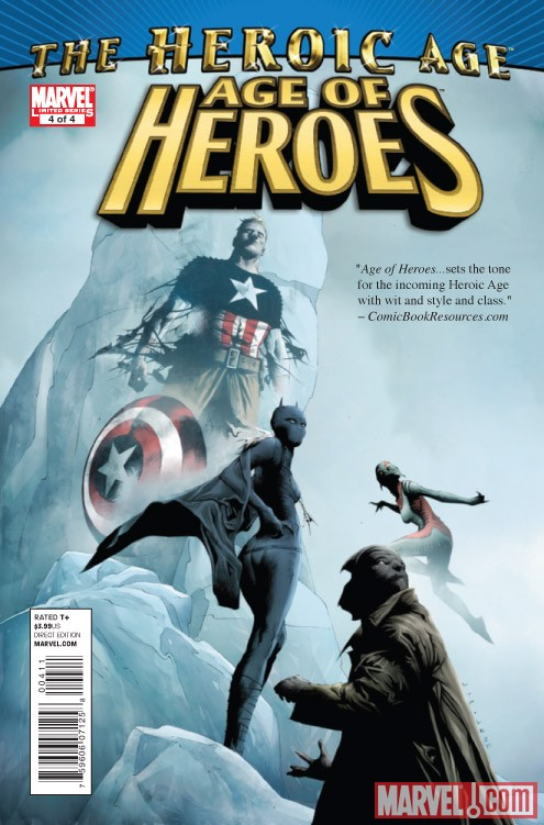 Age of Heroes #4 cover by Jae Lee
