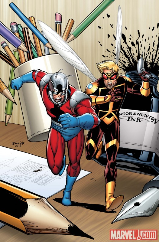 Image Featuring Ant-Man (Eric O Grady)