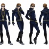 Final color art for Cyclops from the X-Men Anime series