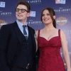 Chris Evans and Hayley Atwell at the Captain America: The First Avenger world premiere
