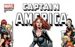Captain America (2004) #609, WOMEN OF MARVEL VARIANT