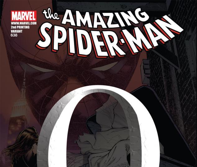 Amazing Spider-Man (1999) #638, SKETCH VARIANT
