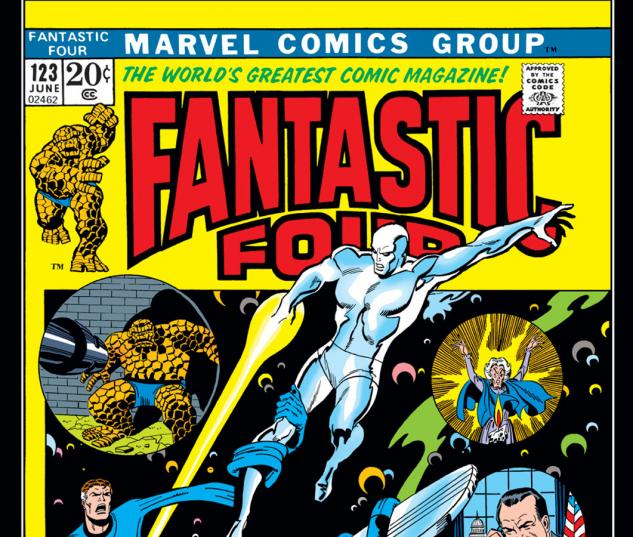 Fantastic Four (1961) #123 Cover