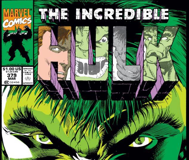 Incredible Hulk (1962) #379 Cover