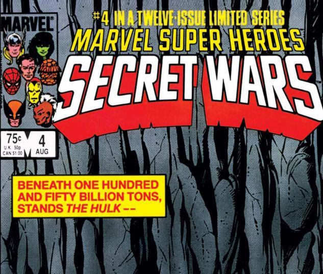 Secret Wars (1984) #4