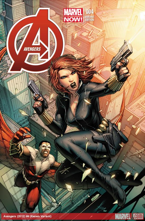 cover from Avengers (2012) #4 (KEOWN VARIANT)