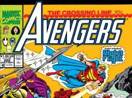 Avengers (1963) #322 Cover
