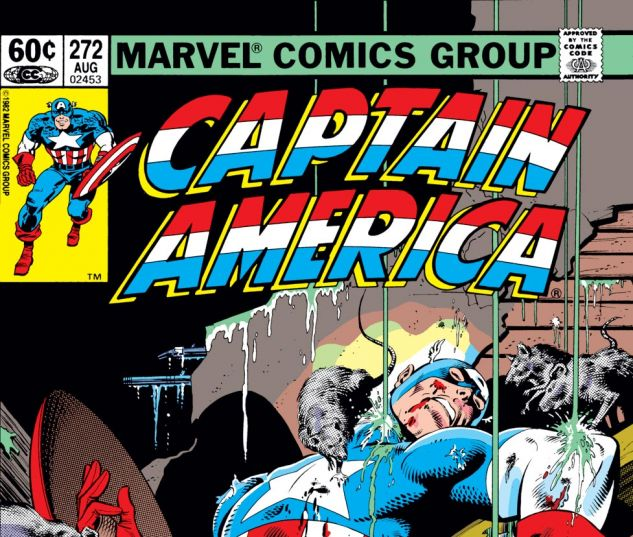 Captain America (1968) #272 Cover