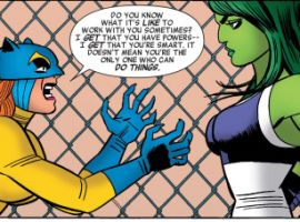 She-Hulk (2014) #7 art by Javier Pulido