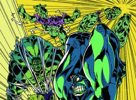 Planet Hulk #4 Manga variant cover by Hiroyuki Imaishi & Gurihiru with special thanks to SGT