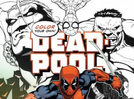 cover from Color Your Own Deadpool (2016)