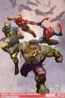 Marvel Zombies Return (2009) #1 (SUYDAM VARIANT)
