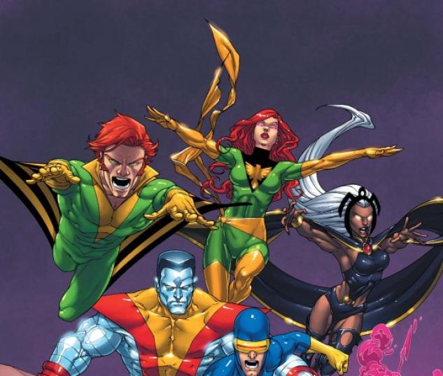 Uncanny X-Men First Class #2 cover by Roger Cruz