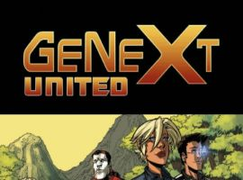 GENEXT: UNITED #1, preview page