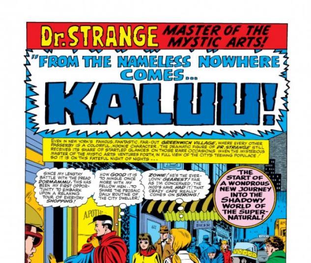 Strange Tales #147