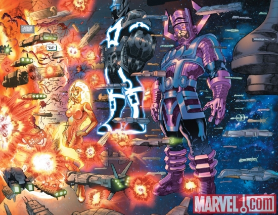 THE THANOS IMPERATIVE #2 preview art by Miguel Sepulveda