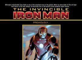 INVINCIBLE IRON MAN #27 recap page