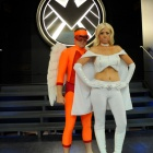 San Diego Comic-Con 2011: Mimic  and Emma Frost Costumers
