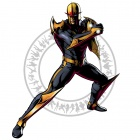 Nova character art from Ultimate Marvel vs. Capcom 3