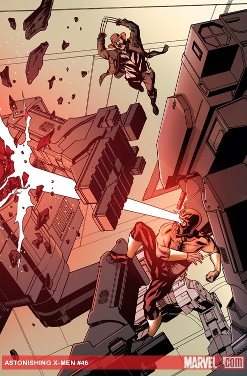 Astonishing X-Men #46 preview art by Mike McKone