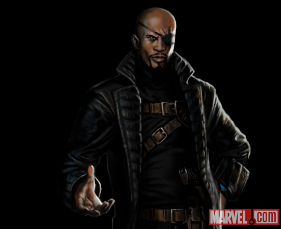 Nick Fury: Head of S.H.I.E.L.D