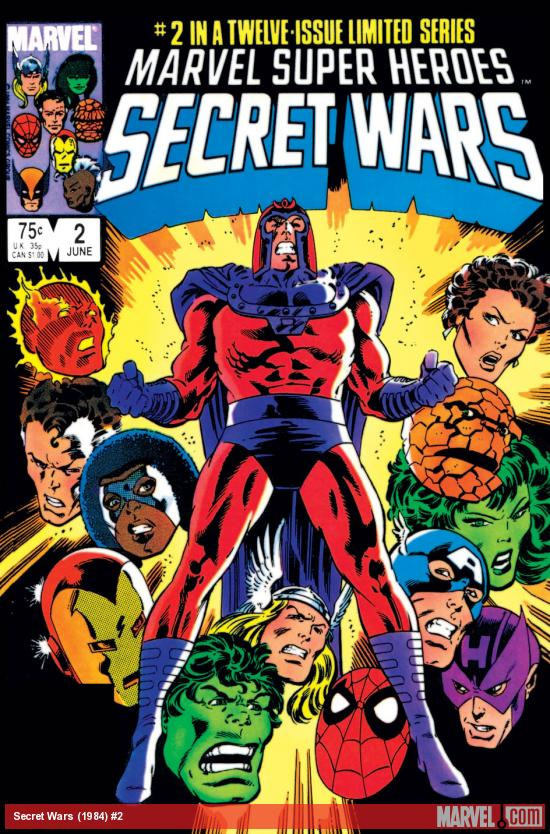 Secret Wars (1984) #2
