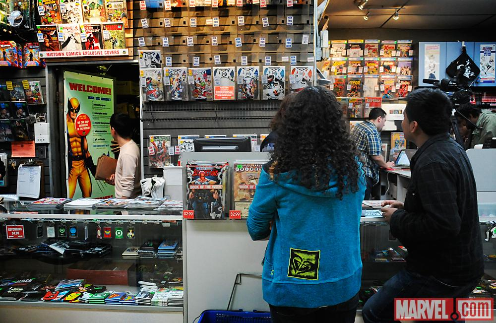 Avengers Vs X-Men Release Party at Midtown Comics