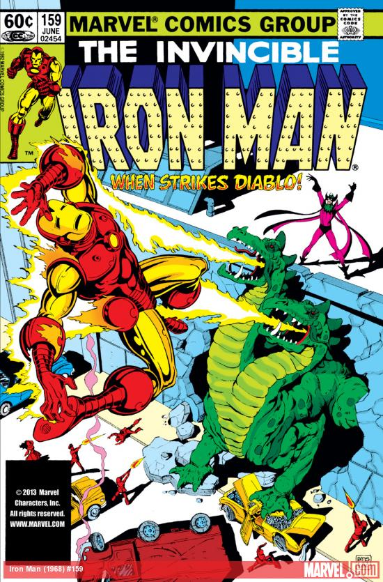 Iron Man (1968) #159 Cover