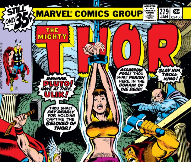 Thor (1966) #279 Cover
