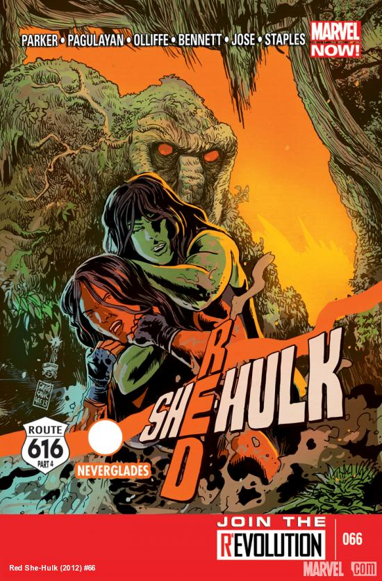 RED SHE-HULK 66