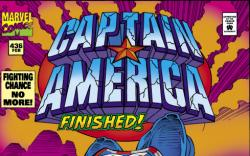 Captain America #436