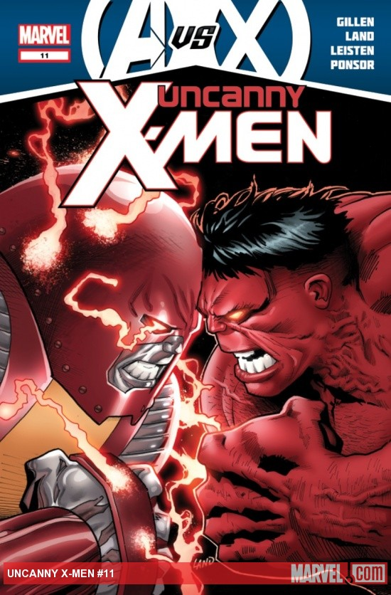 Uncanny X-Men (2011) #11 cover by Greg Land