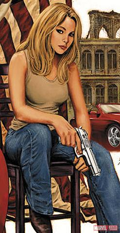 Sharon Carter by Steve Epting