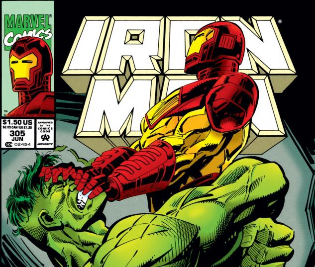 Iron Man (1968) #305 Cover