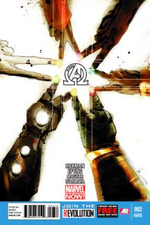 New Avengers (2013) #2 (2nd Printing Variant)