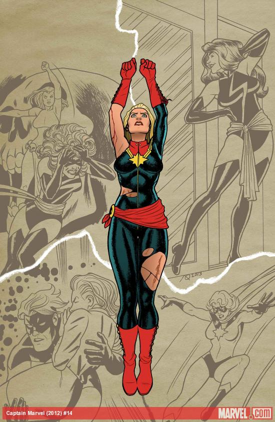Captain Marvel (2012) #14 Cover