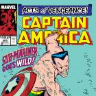 Captain America (1968) #365 Cover