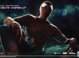 The Amazing Spider-Man 2 video game key art