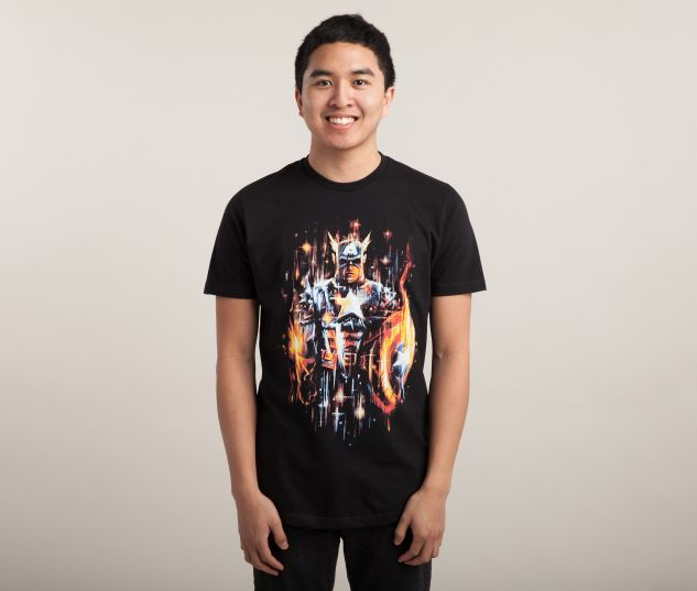 Suit Up Super-Soldier with Captain America Tees